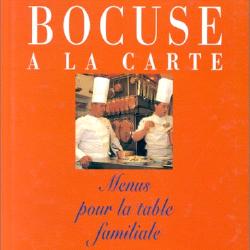 cover of Bocuse a la Carte